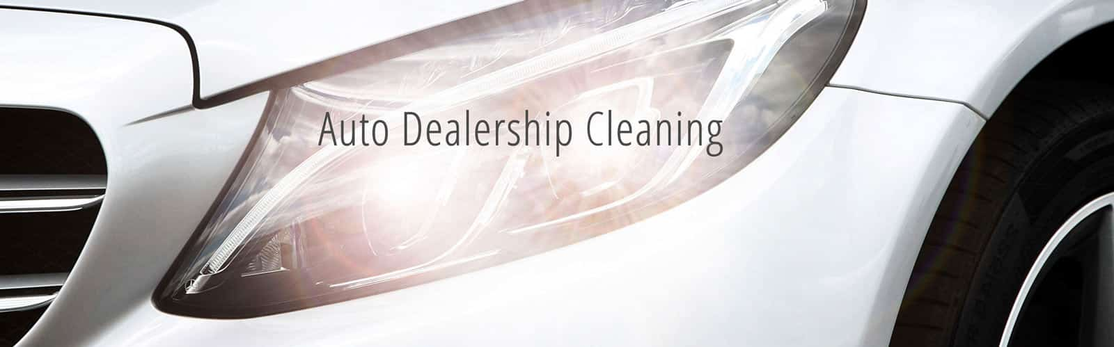 Auto Dealership Cleaning Services - Pittsburgh